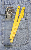 Pocket tools Royalty Free Stock Image