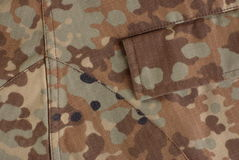 Pocket on the uniform Royalty Free Stock Images