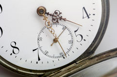 Pocket watch - 2. Pocket watch details Royalty Free Stock Photography
