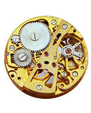 Pocket watch. Workings giving example of clockwork Royalty Free Stock Image