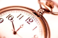 Pocket watch. Close-up of a vintage pocket watch Royalty Free Stock Image