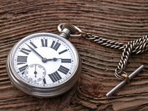 Pocket watch. Vintage pocket watch Royalty Free Stock Images