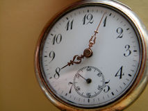 Pocket watch. An old pocket watch Royalty Free Stock Photography