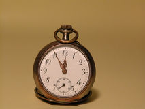 Pocket watch. An old pocket watch Royalty Free Stock Photos