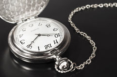 Pocket watch and chain Royalty Free Stock Image