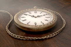 Pocket Watch On Chain Stock Photos