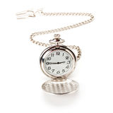 Pocket watch with chain royalty free stock photography
