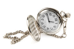 Pocket watch with chain Stock Photos