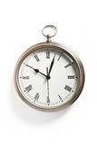Pocket watch clock Stock Images
