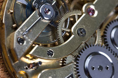 Pocket watch clockwork royalty free stock images