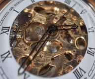 Pocket watch stock images