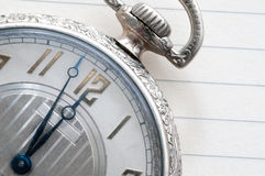Pocket Watch Closeup Royalty Free Stock Photography
