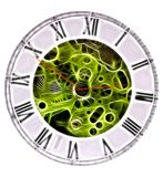 Pocket watch fractal Royalty Free Stock Images
