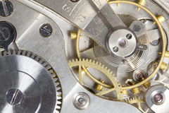 Pocket watch gears Stock Photography