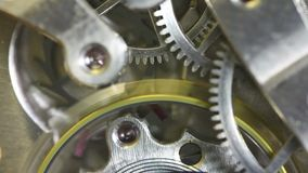 Pocket Watch Gears Macro Stock Photos