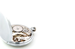 Pocket watch inside  Stock Images