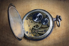 Pocket watch inside Royalty Free Stock Images