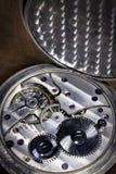 Pocket watch inside Stock Photography