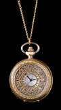 Pocket watch isolated Stock Images