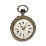 Pocket watch (isolated with clipping path) Stock Image