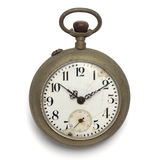 Pocket watch (isolated with clipping path) stock photo