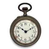 Pocket watch (isolated with clipping path) Royalty Free Stock Photography
