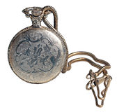 Pocket watch isolated Stock Image