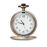 Pocket watch isolated Royalty Free Stock Images