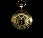 Pocket watch - low key royalty free stock images