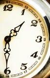 Pocket watch macro Royalty Free Stock Photos