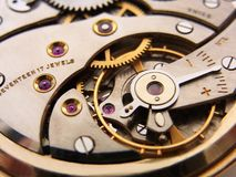 Pocket Watch Mechanism Stock Photos