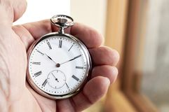 Pocket watch, Old style marks the passage of time Stock Photo