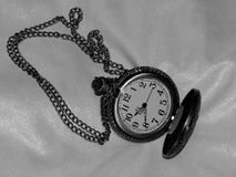 Pocket watch in the style of a retro image Stock Photography