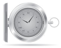 Pocket watch vector illustration Stock Image