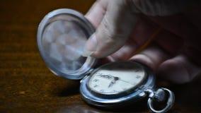 Pocket watch. vintage artifact stock video footage
