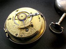 Pocket Watch Works Stock Images