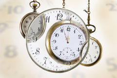 Pocket watches Stock Image