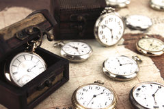 Pocket watches Stock Images