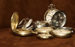Pocket Watches Royalty Free Stock Photo