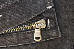 Pocket with zipper Stock Image