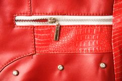 Pocket with zipper Stock Photo