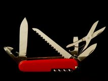 Pocketknife Stock Photo