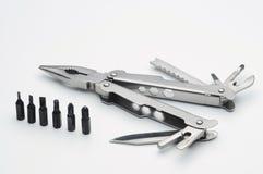 Pocketknife i śrubokrętu set fotografia stock