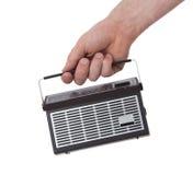 Pocketradio, που απομονώνεται μικρό Στοκ φωτογραφία με δικαίωμα ελεύθερης χρήσης