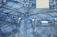 Pockets of jeans. Stock Image