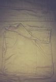 Pockets of sand-colored trousers Royalty Free Stock Photos