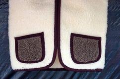 Pockets woolen vest Royalty Free Stock Photo