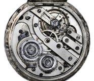 Pocketwatch mekanism Fotografering för Bildbyråer