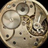 Pocketwatches meccanici d'annata del movimento a orologeria Fotografie Stock