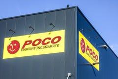 POCO廉价经营者商标 免版税图库摄影